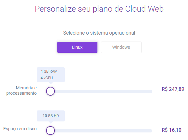 KingHost - Planos de Cloud Web Dedicado