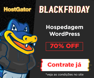 Black Friday HostGator Brasil 2017 Hospedagem WordPress 70%